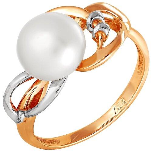 Фото - ПримаЭксклюзив Кольцо с 1 жемчугом из красного золота 190-1-585Р, размер 17 примаэксклюзив кольцо с 1 жемчугом из красного золота 190 1 921р размер 17