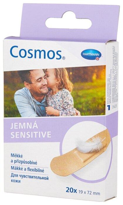 Cosmos Sensitive пластырь для чувствительной кожи 1.9х7.2 см, 20 шт.