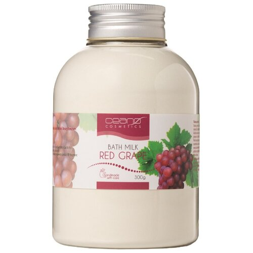 Ceano Cosmetics Молочко для ванн Красный виноград, 300 г ceano cosmetics кремер для ванн малина 40 г