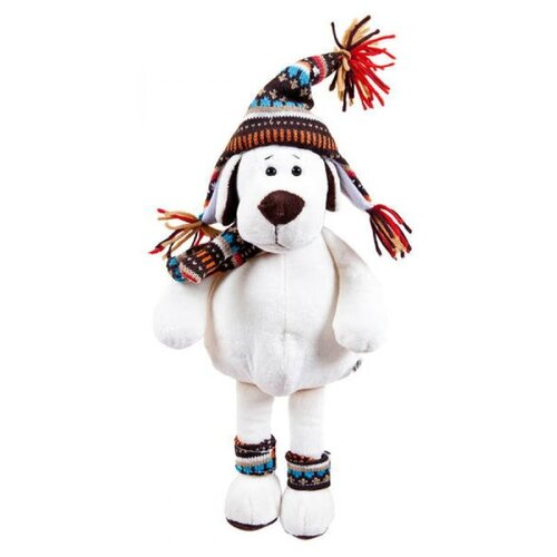 Фото - Мягкая игрушка ABtoys Собака в шапке 24 см мягкая игрушка abtoys собака m2032 14 см
