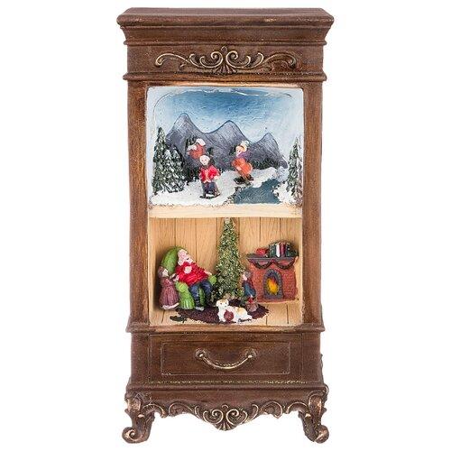 Фигурка Lefard Рождественский буфет 868-115 коричневый фигурка lefard снеговик 787 179