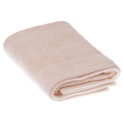 La Pastel Полотенце Узоры банное 50х90 см светло-розовый цена 2017
