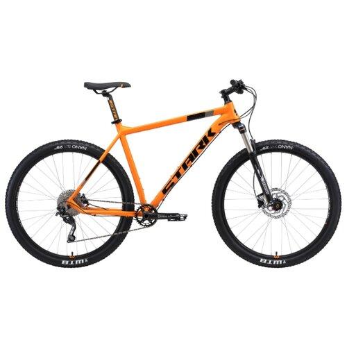 Горный (MTB) велосипед STARK Krafter 29.7 HD (2019) оранжевый/черный 22 (требует финальной сборки)