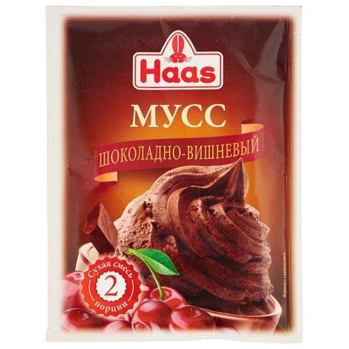 Фото - Смесь для десерта Haas Мусс шоколадно-вишневый 65 г смесь для десерта newa nutrition пудинг шоколадный вкус 150 г
