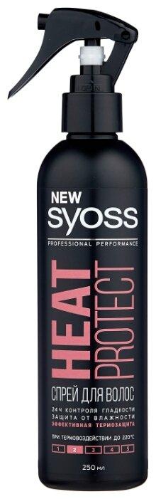 Syoss Термозащитный спрей для волос Heat protect, слабая фиксация