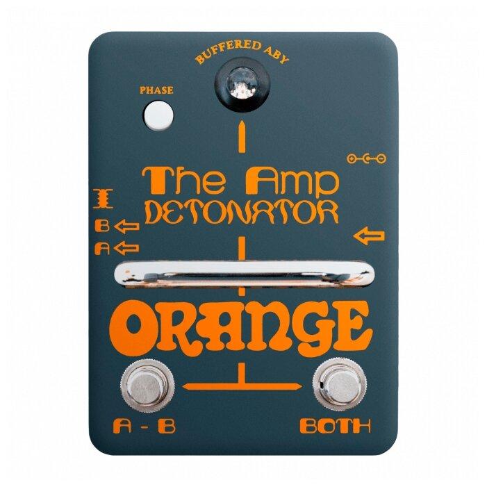 Orange педаль Amp Detonator ABY