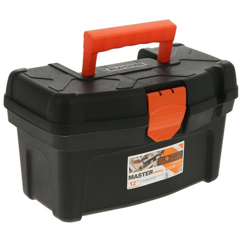 Ящик BLOCKER Master Economy BR6001 32x19.6x18.8 см 12'' черный/оранжевый