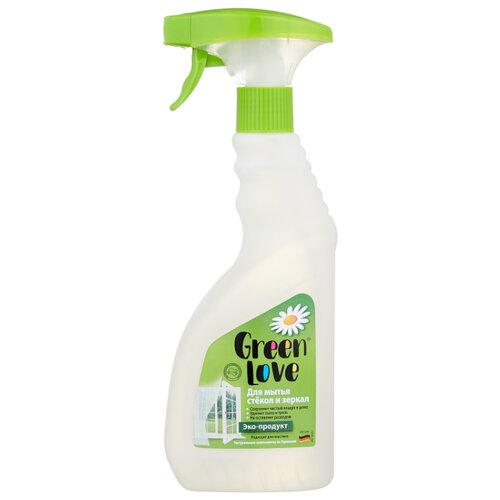 Спрей Green Love Для мытья стекол и зеркал 500 мл.