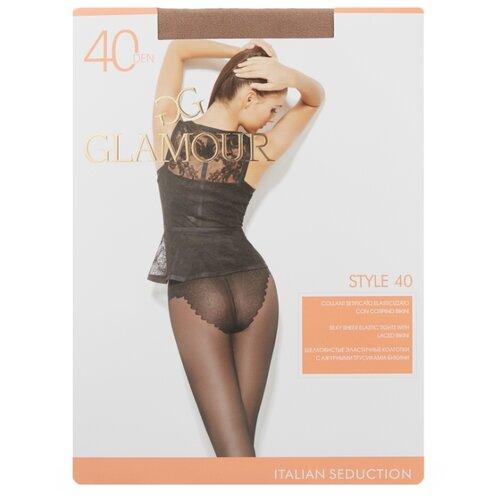 Колготки Glamour Style 40 den, размер 3-M, miele (бежевый) колготки glamour prestige 40 miele
