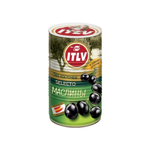 Маслины ITLV черные без косточки 370 мл itlv маслины super с косточкой