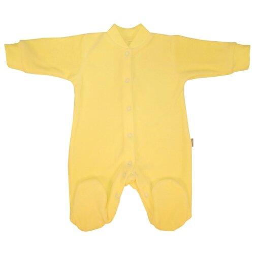 Купить Комбинезон Папитто размер 68, желтый, Комбинезоны