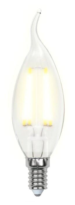 Лампа светодиодная Uniel UL-00000306, E14, CW35, 6Вт