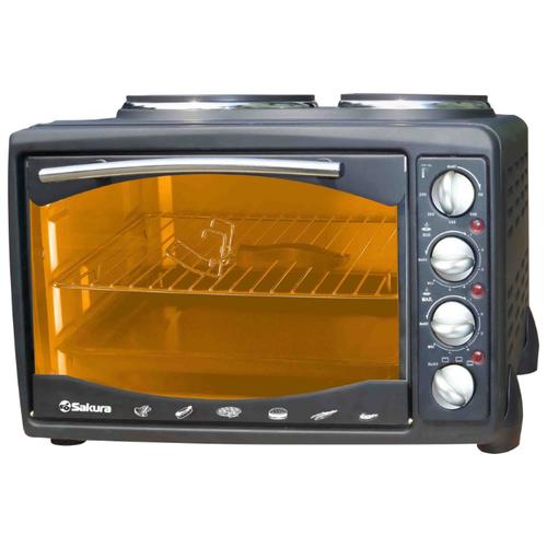 Мини-печь Sakura SA-7007 черный
