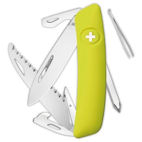 Нож многофункциональный SWIZA D06 Standard (12 функций) зеленый