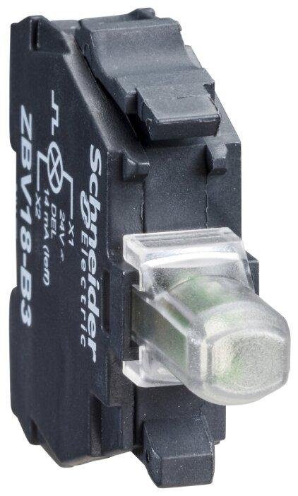 Светосигнальный блок с ламподержателем для устройств управления и сигнализации Schneider Electric ZBVJ4