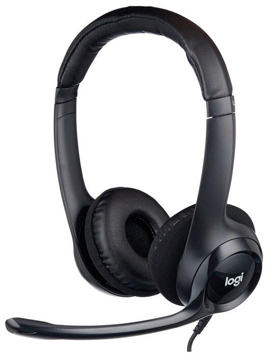 Компьютерная гарнитура Logitech Stereo Headset H390