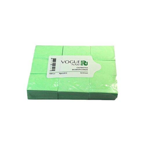 Vogue Nails Салфетки безворсовые, 450 шт зеленый