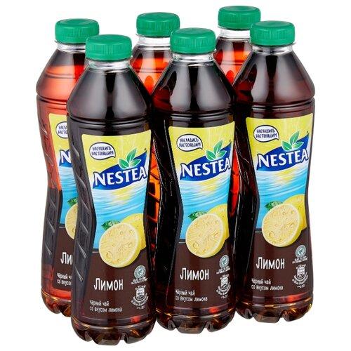 Чай Nestea черный со вкусом Лимона, 1 л, 6 шт.