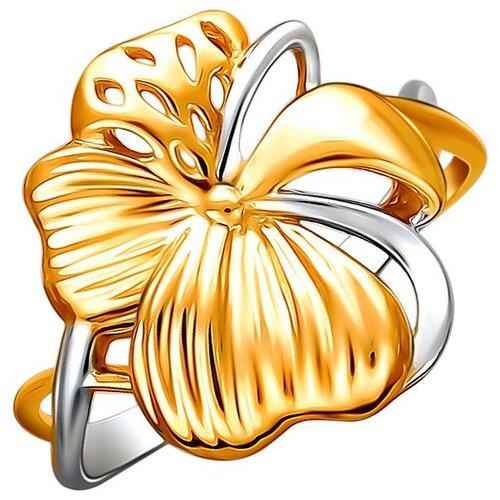 Эстет Кольцо из красного золота 01К0112322Р, размер 19 ЭСТЕТ