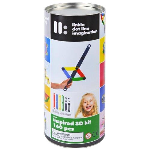 Купить Винтовой конструктор Linkie 3D kit Inspired 160 деталей, Конструкторы