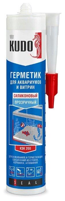 Герметик KUDO KSK для аквариумов и витрин 280 мл.
