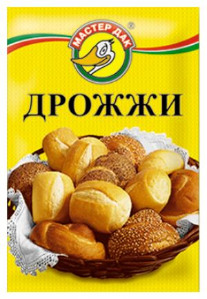 Дрожжи Мастер Дак хлебопекарные быстрорастворимые