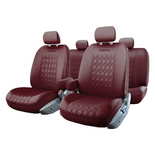 цена на Комплект чехлов AUTOPROFI PER-1305GF вишневый