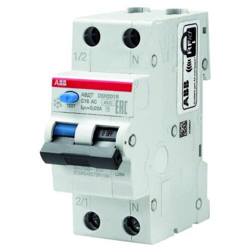 Дифференциальный автомат ABB DSH201R 2П 30 мА C 25 А автомат abb bms413c06