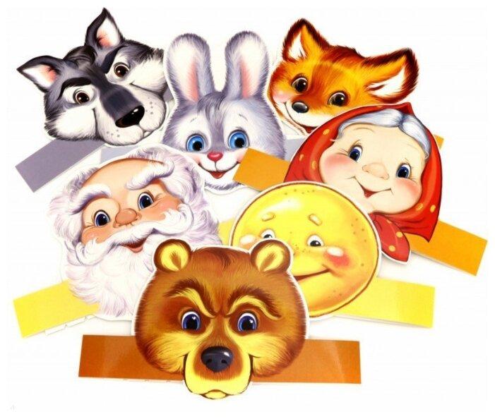 Картинки из сказок для театрального уголка в детском саду