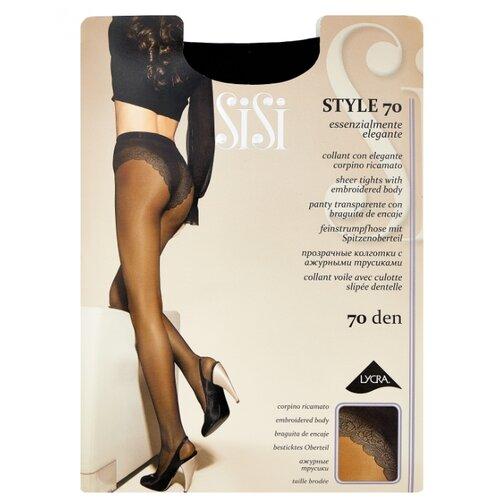 Колготки Sisi Style 70 den, размер 3-M, nero (черный)- преимущества, отзывы, как заказать товар за 419 руб. Бренд Sisi