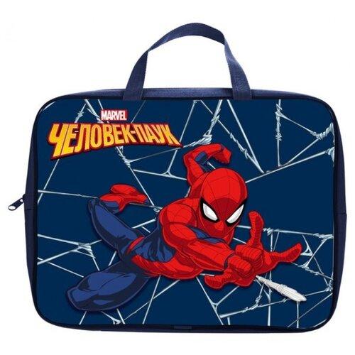 Купить Школьная сумка Hatber Человек-паук NSn_76008 синий, Школьные сумки