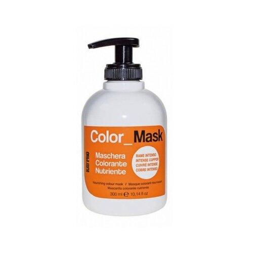 цена на KayPro Color Mask Маска для волос питающая окрашивающая Насыщенная медь, 300 мл