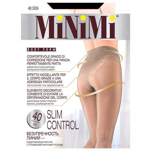 Колготки MiNiMi Slim Control 40 den fumo 1/2-S (MiNiMi)Колготки и чулки<br>