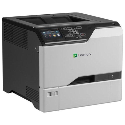 Фото - Принтер Lexmark CS725de, черный/серый принтер лазерный lexmark cs521dn 42c0068