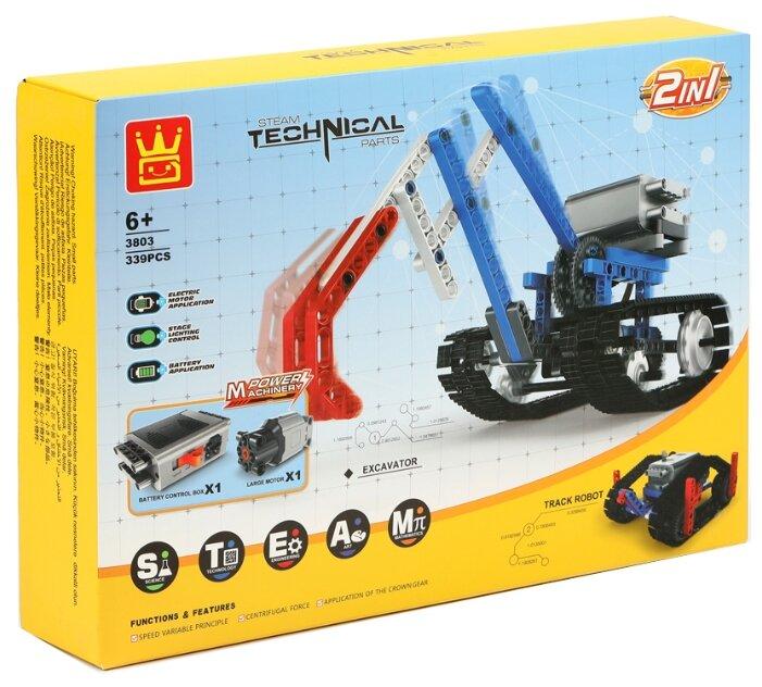 Электромеханический конструктор Wange Technical 3803 Вездеход
