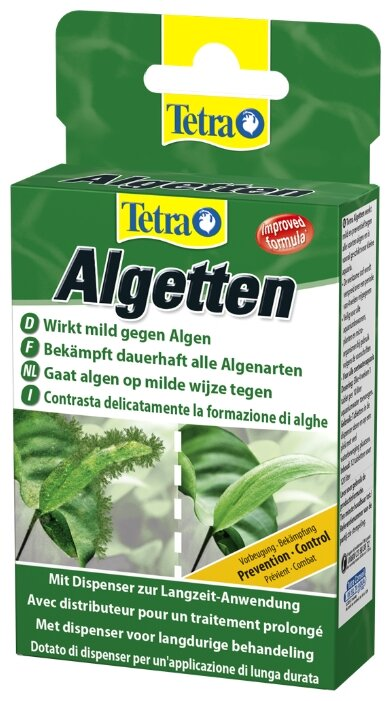 Tetra Algetten средство для борьбы с водорослями