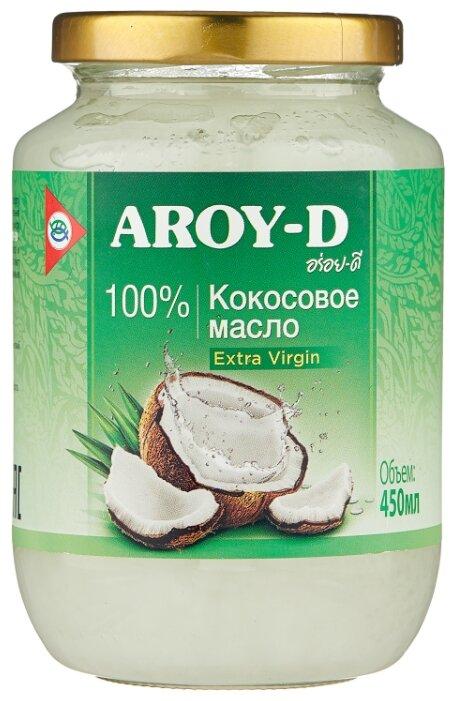 Aroy-D Масло 100% кокосовое (extra virgin) 0.45 л