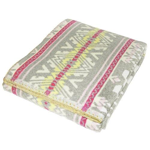 цена на Одеяло ARLONI Этника хлопковый, всесезонное, 140 х 205 см (серый)