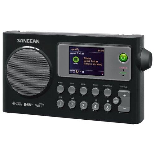 Интернет-радиоприемник Sangean WFR-27C черный