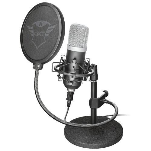 Микрофон Trust GXT 252 Emita черный микрофон trust gxt usb