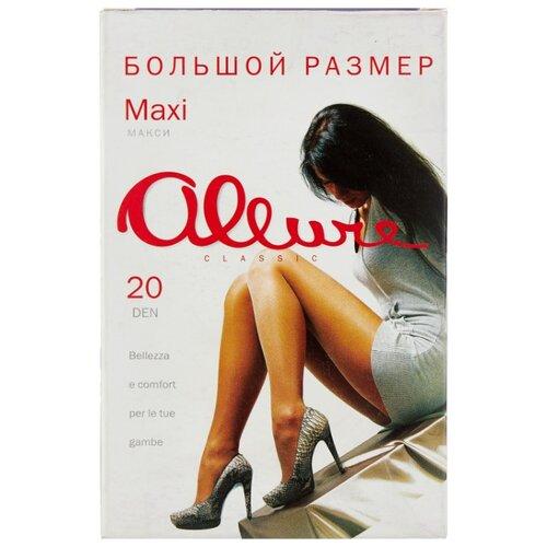 Фото - Колготки ALLURE Classic Maxi 20 den, размер 7, glase (золотистый) колготки allure classic support 30 den размер 5 glase золотистый