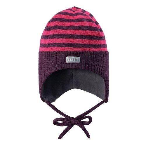 Купить Шапка Lassie размер S/003, фиолетовый/розовый, Головные уборы