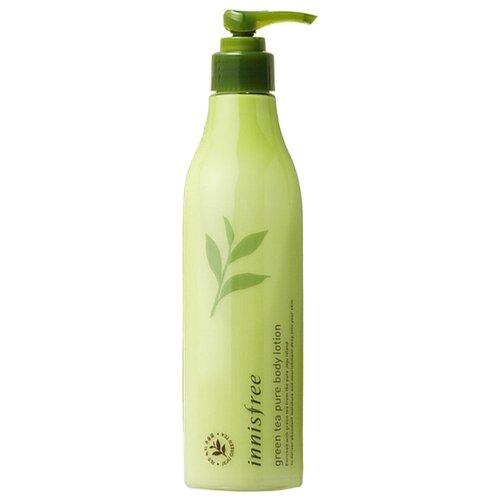цена на Лосьон для тела Innisfree Green Tea Pure Body Lotion, бутылка, 300 мл