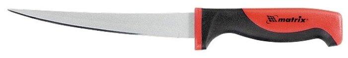 Matrix Нож поварской Silver teflon fillet 16 см