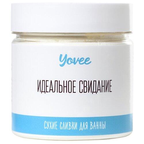 Yovee by Toyfa Сухие сливки для ванны Кокосовый рай с ароматом кокоса, 100 г yovee by toyfa соль для ванны когда хочется релакса с ароматом лаванды и сандала 100 г