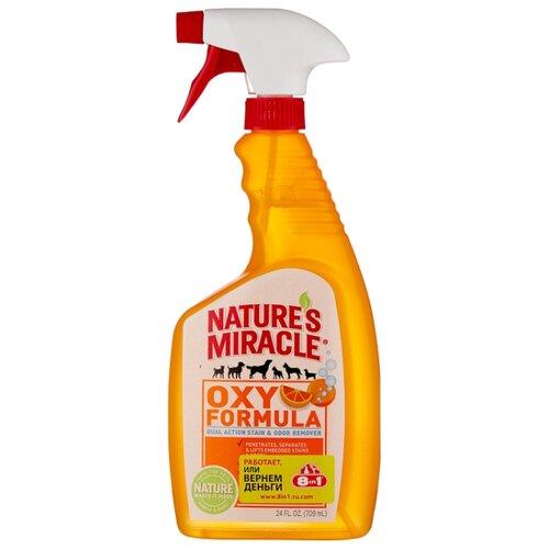 Спрей Nature's Miracle уничтожитель пятен и запахов от животных Orange-Oxy Formula 709 мл