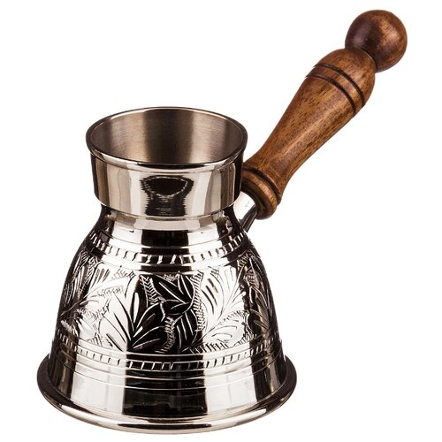 Турка Lefard Graving 877-341 / 877-343 (250 мл), серебряный недорого