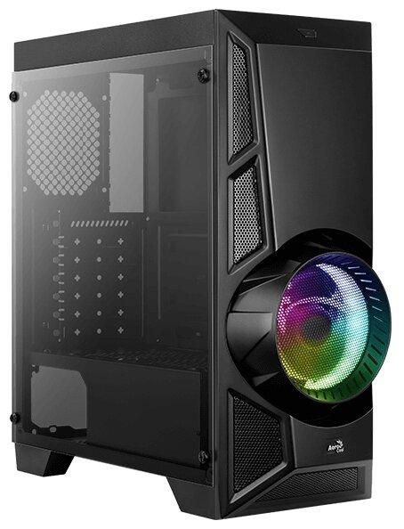 Компьютерный корпус AeroCool AeroEngine RGB TG Black — цены на Яндекс.Маркете
