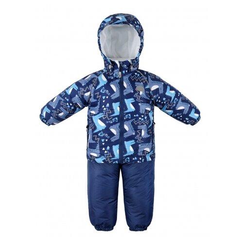 Купить Комплект с полукомбинезоном Reike размер 92, темно-синий, Комплекты верхней одежды
