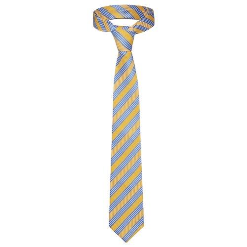 Галстук Signature 209295 желтый/голубой/белый